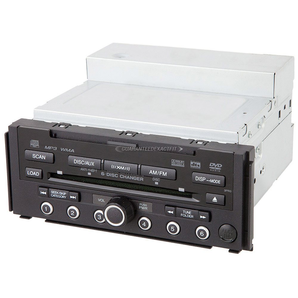 Acura RDX                            Radio or CD PlayerRadio or CD Player