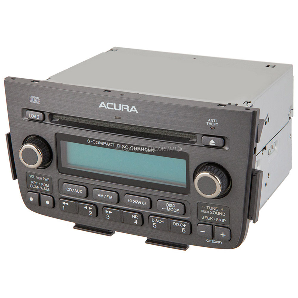 2005 Acura MDX Radio Or CD Player From Car Parts Warehouse