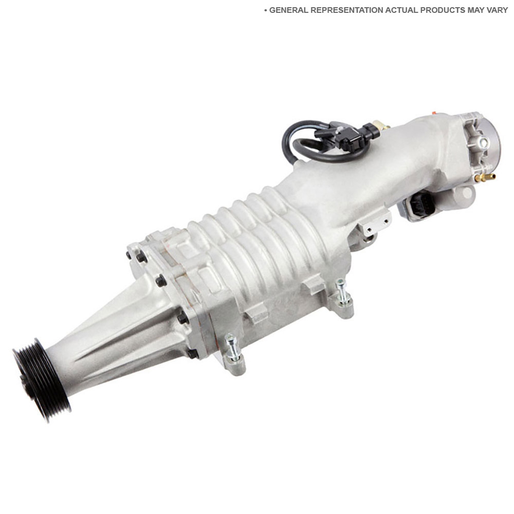 Ford Mustang Supercharger - OEM & Aftermarket Replacement Parts