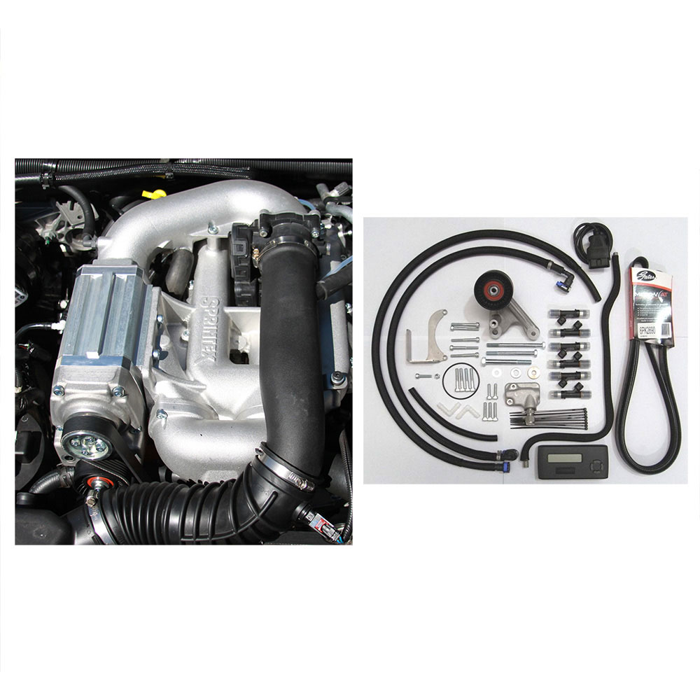 Jeep Supercharger Kits: Brand New Genuine Sprintex Complete Supercharger Kit Fits