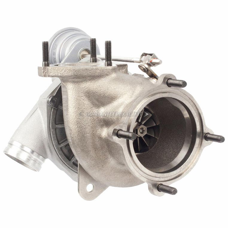 Porsche 911 Left Side Turbo Turbocharger