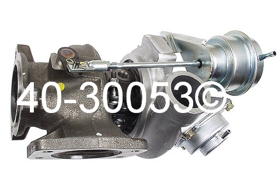 1996 Volvo 850 2.3L Engine Turbocharger