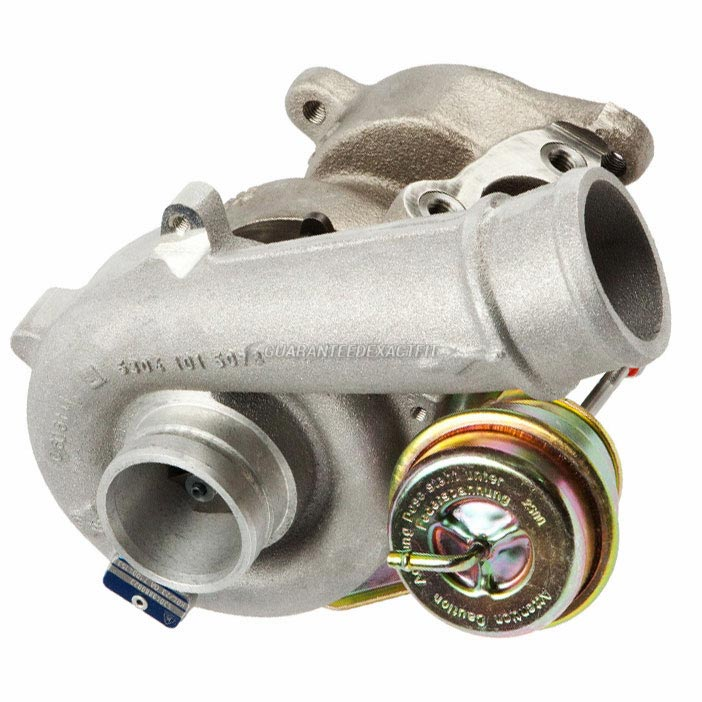 2006 Audi TT Quattro Models Turbocharger