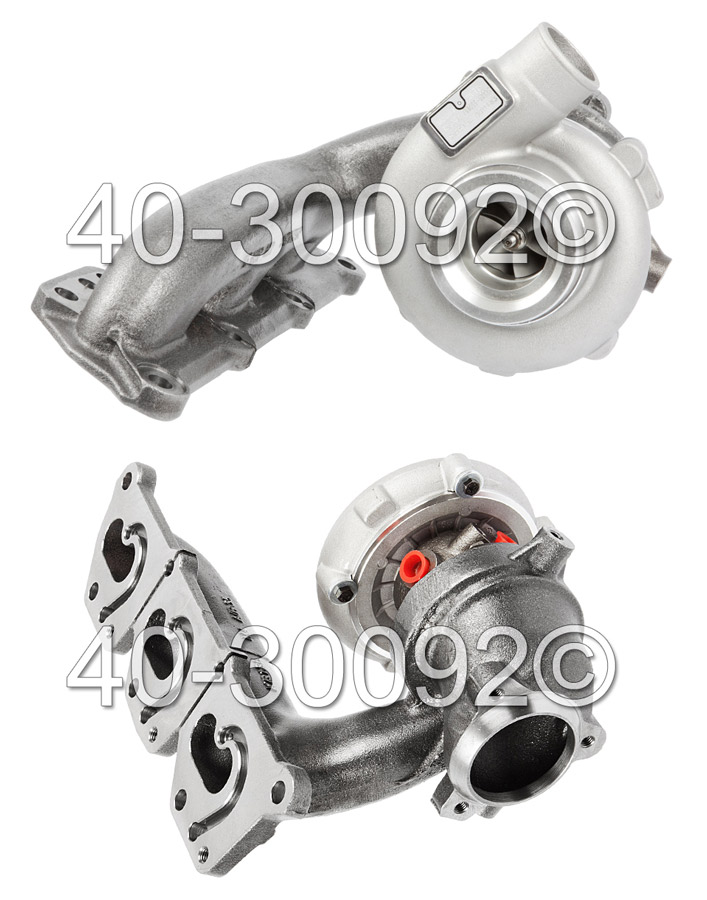 2000 Saab 9-5 3.0L SE Models Turbocharger