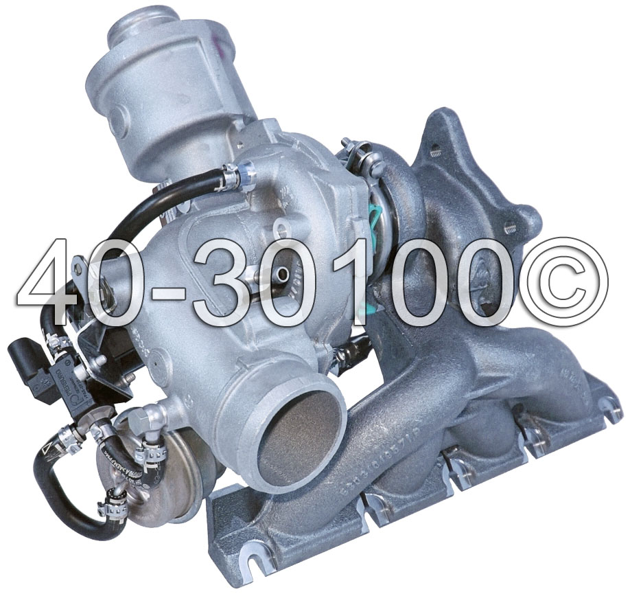 2007 Audi A4 2.0L Engine Turbocharger
