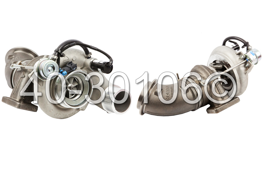 2004 Dodge Ram 5.9L Diesel - Late 2004 Models [2004.5 Model Year] Turbocharger