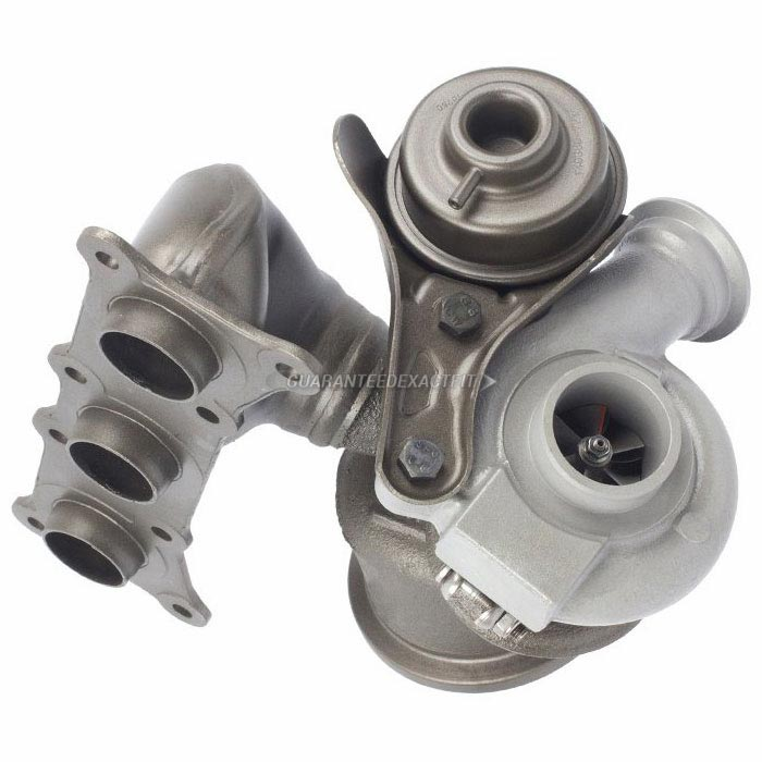 2009 BMW 335i Rear Turbocharger [Cylinders 4 Through 6] Turbocharger