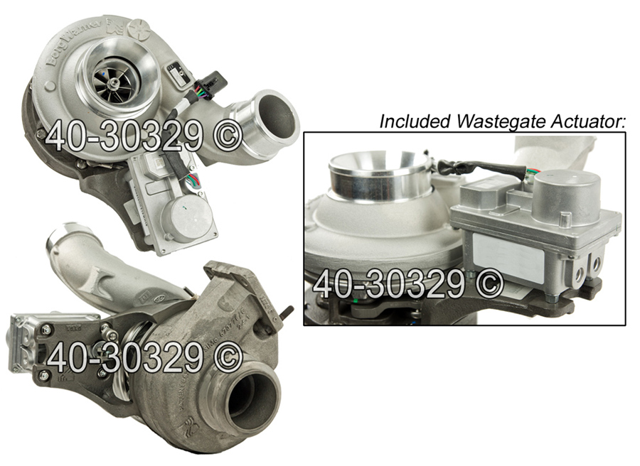 2011 International All Models Navistar DT466E Engine with Borg Warner Number 173900 Turbocharger