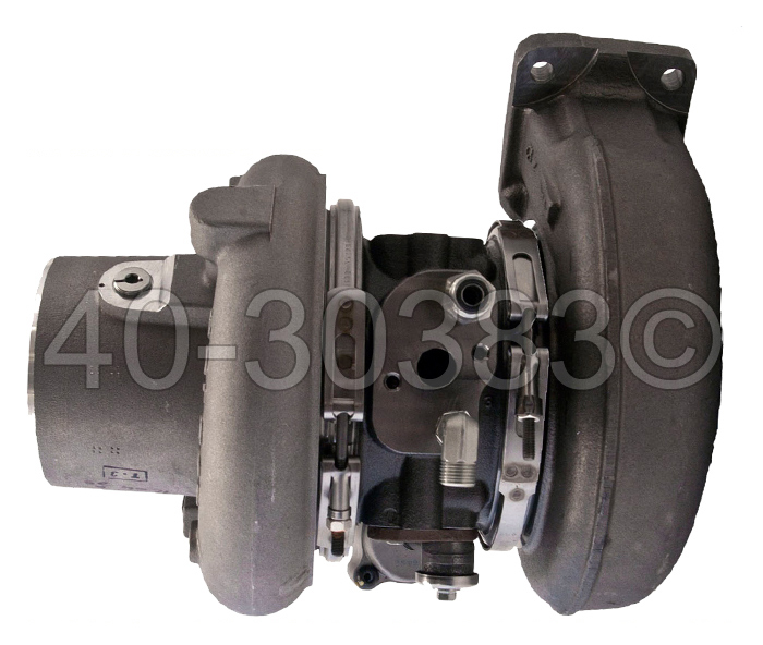 Cummins Engines ISX Engines Cummins ISX Engine with Turbocharger Part Number 4036666 Turbocharger