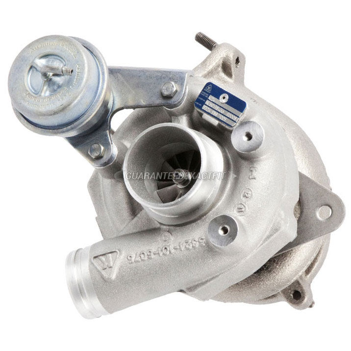2004 Porsche 911 GT2 Models - Left Side Turbocharger