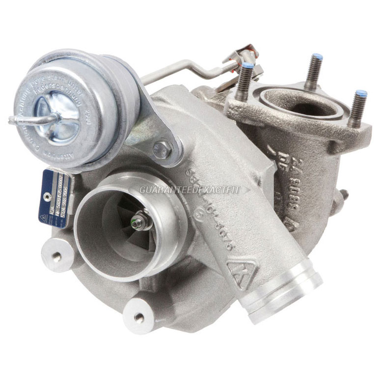 2002 Porsche 911 GT2 Models - Right Side Turbocharger