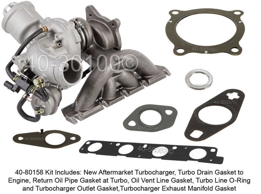Audi A4                             Turbo Installation KitTurbo Installation Kit