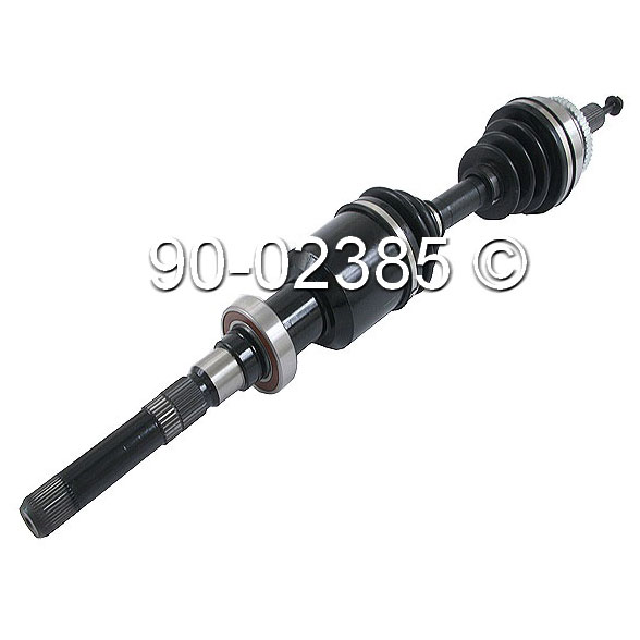 Volvo S80                            Drive Axle FrontDrive Axle Front