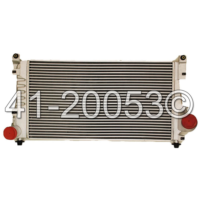 GMC Pick-up Truck                  IntercoolerIntercooler