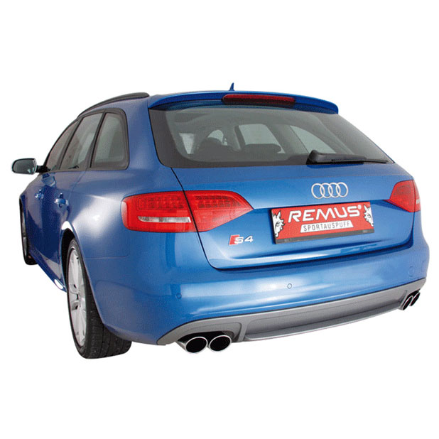 Audi S4                             Performance Exhaust SystemPerformance Exhaust System