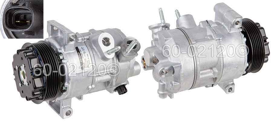Dodge Caliber                        A/C Compressor