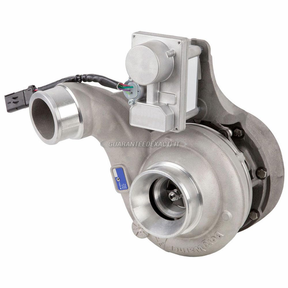 2013 International All Models Navistar DT466E Engine with International Turbocharger Number 1871090C91 Turbocharger