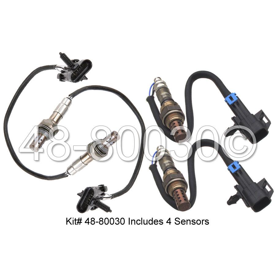 GMC Suburban                       Oxygen Sensor KitOxygen Sensor Kit