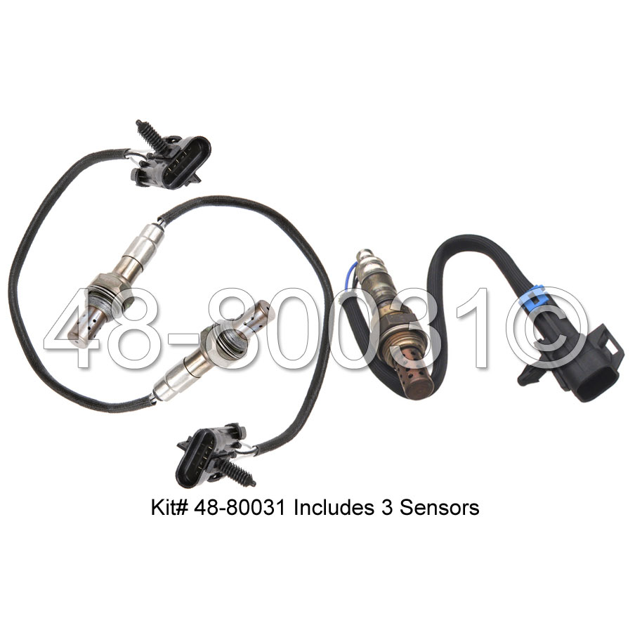 GMC Safari Oxygen Sensor Kit