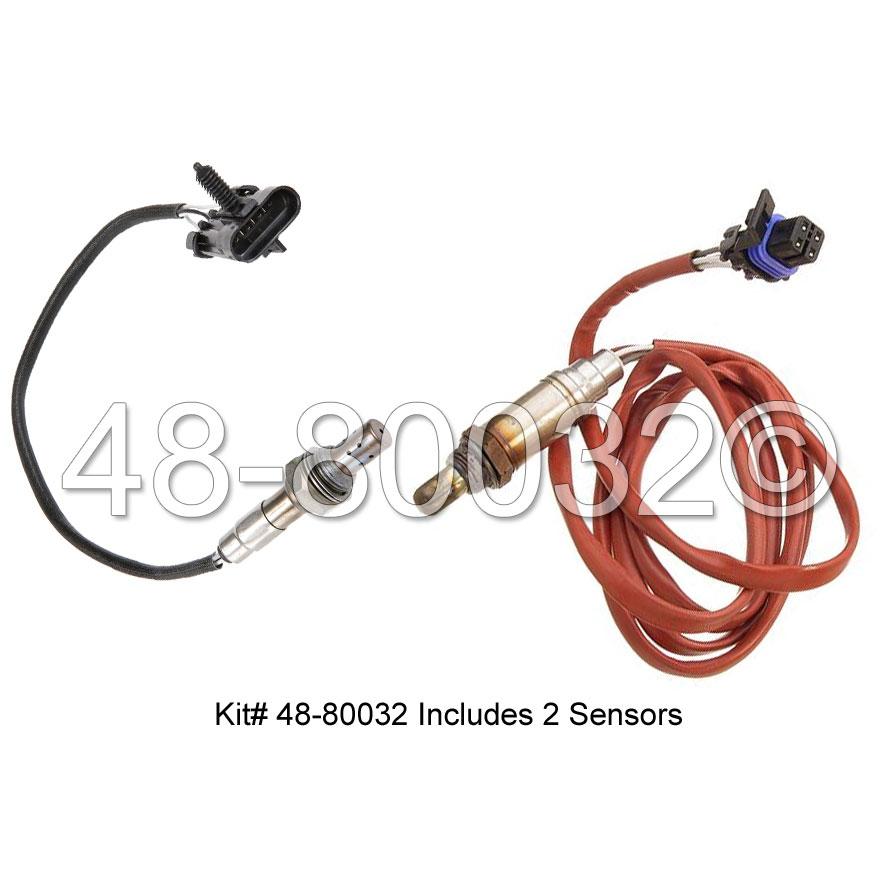 Chevrolet Beretta                        Oxygen Sensor KitOxygen Sensor Kit