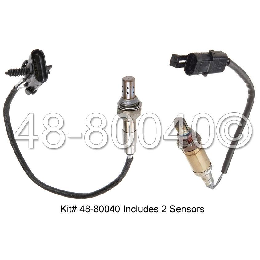 Daewoo Leganza                        Oxygen Sensor KitOxygen Sensor Kit