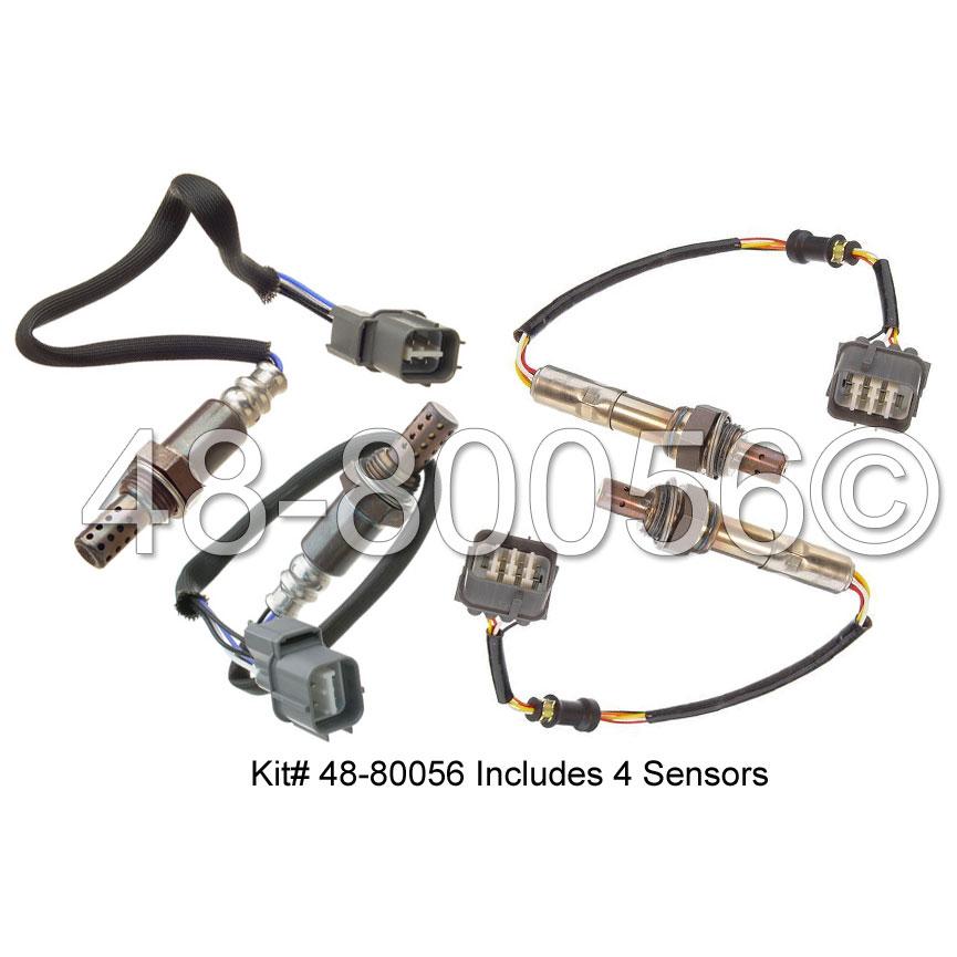 Honda Pilot                          Oxygen Sensor KitOxygen Sensor Kit