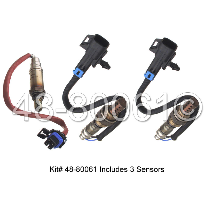 Cadillac Deville                        Oxygen Sensor KitOxygen Sensor Kit