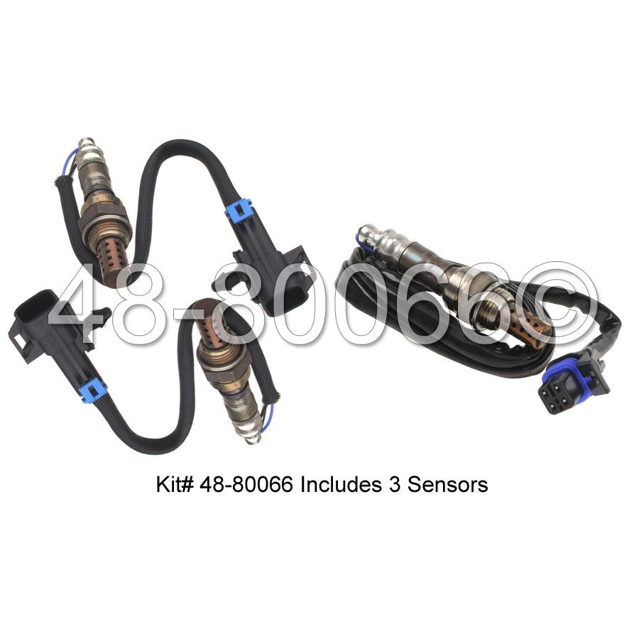 Chevrolet Malibu                         Oxygen Sensor KitOxygen Sensor Kit