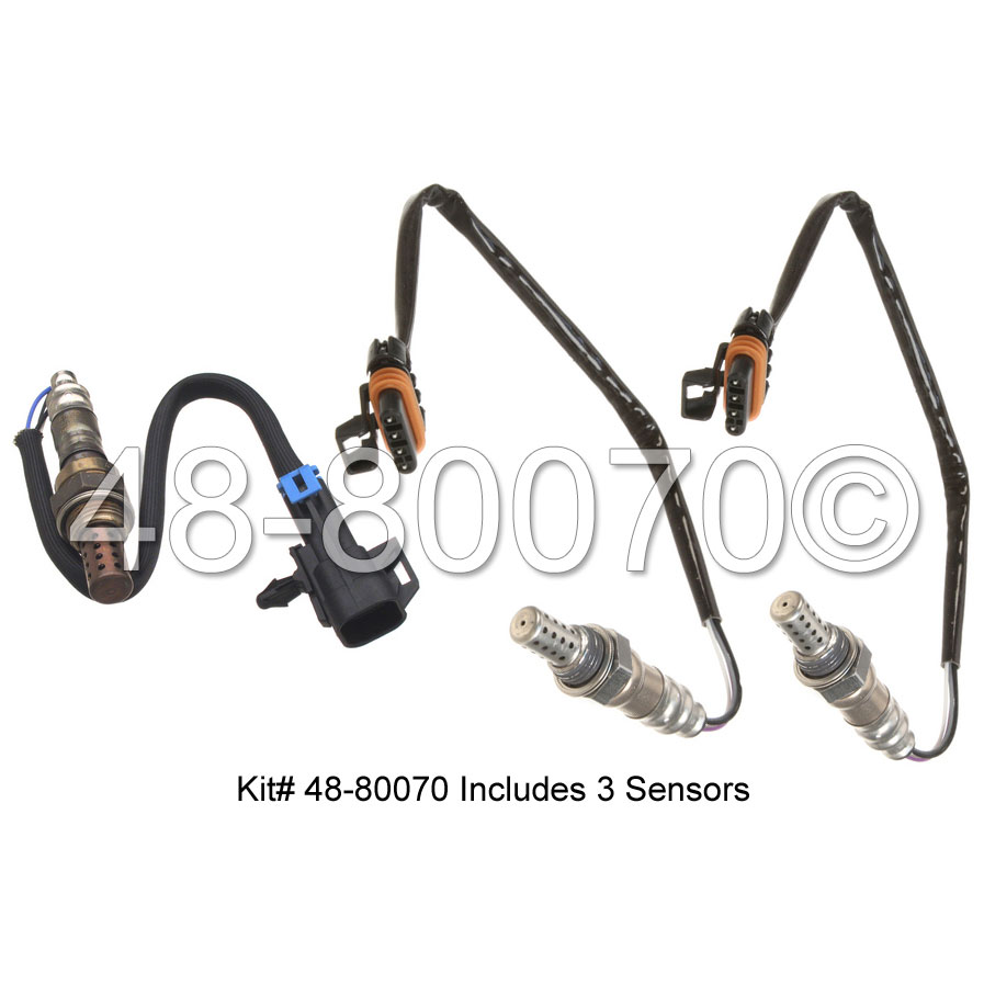 GMC Savana Van                     Oxygen Sensor KitOxygen Sensor Kit