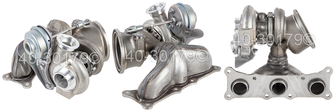 2010 BMW 335i Rear Turbocharger [Cylinders 4 Through 6] Turbocharger