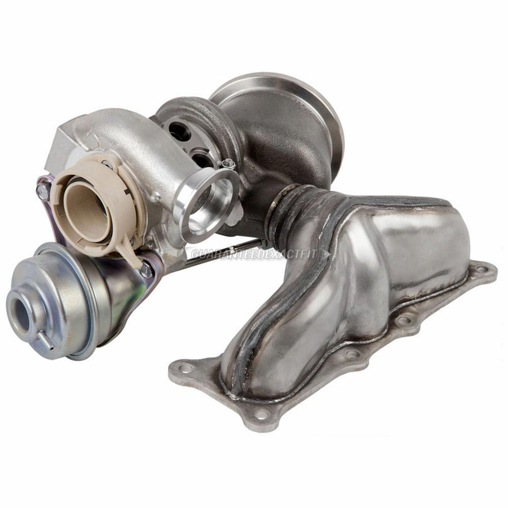 2008 BMW X6 3.0L Engine - Front Turbocharger [Cylinders 1 Through 3] Turbocharger
