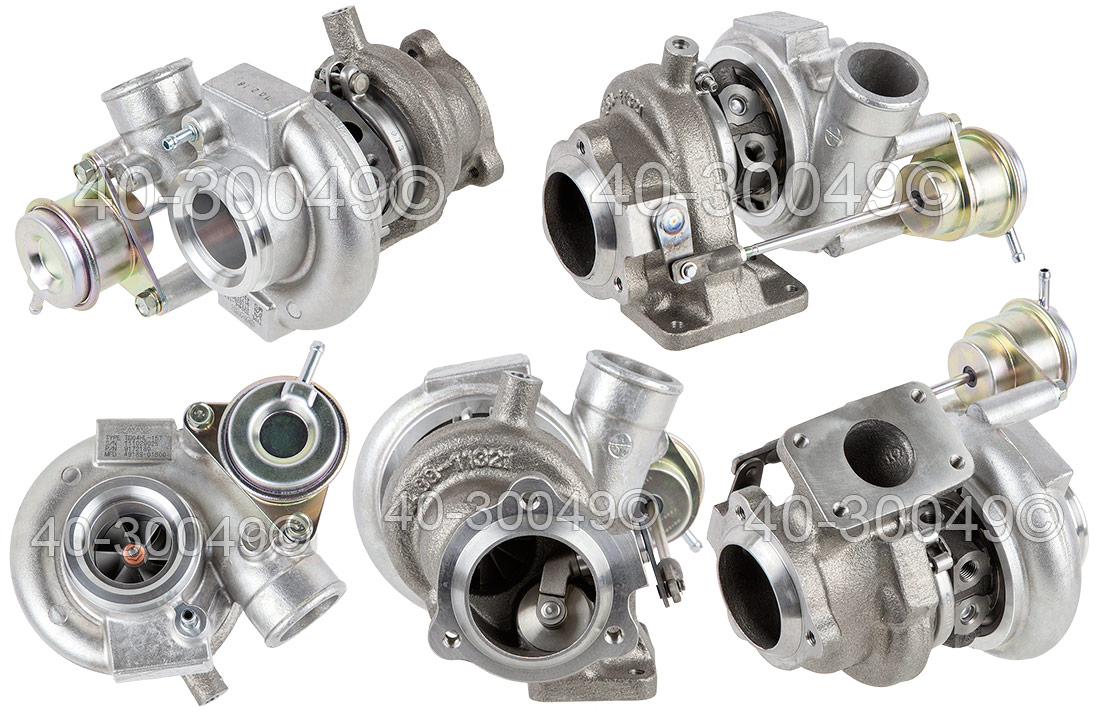 2001 Saab 9-3 2.0L SE Models Turbocharger