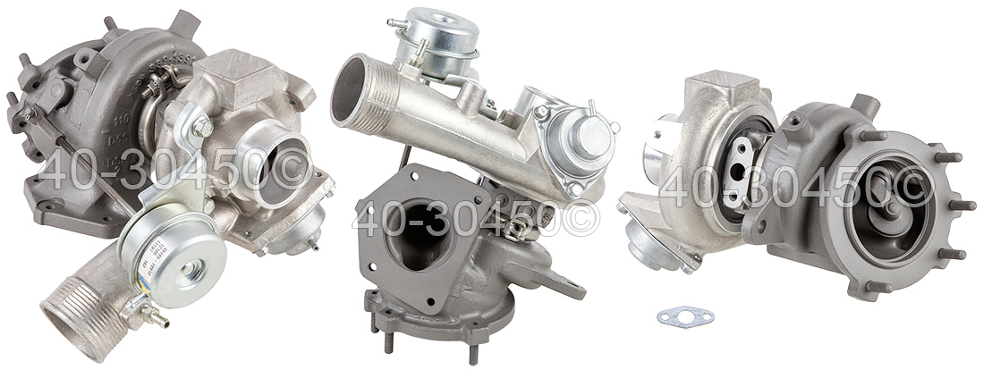 Dodge Caliber SRT-4 Models Turbocharger