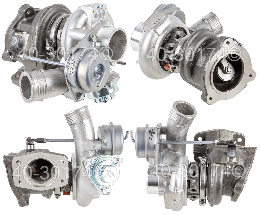 2007 Volvo S60 2.5L Engine [Non-R Models] Turbocharger