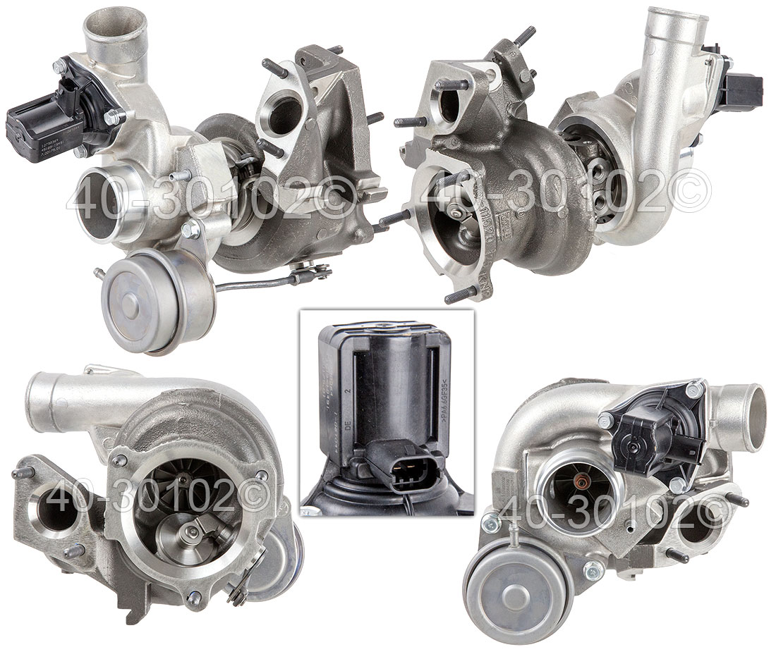2008 Saab 9-3 2.8L Engine Turbocharger