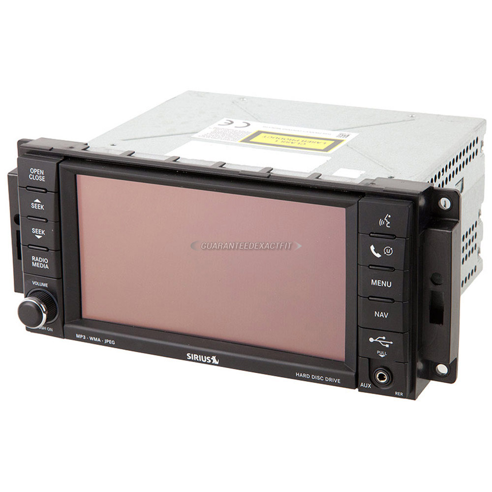 Chrysler Town and Country Navigation Unit