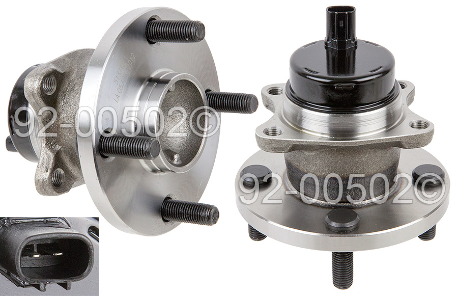 Toyota MR2                            Wheel Hub AssemblyWheel Hub Assembly