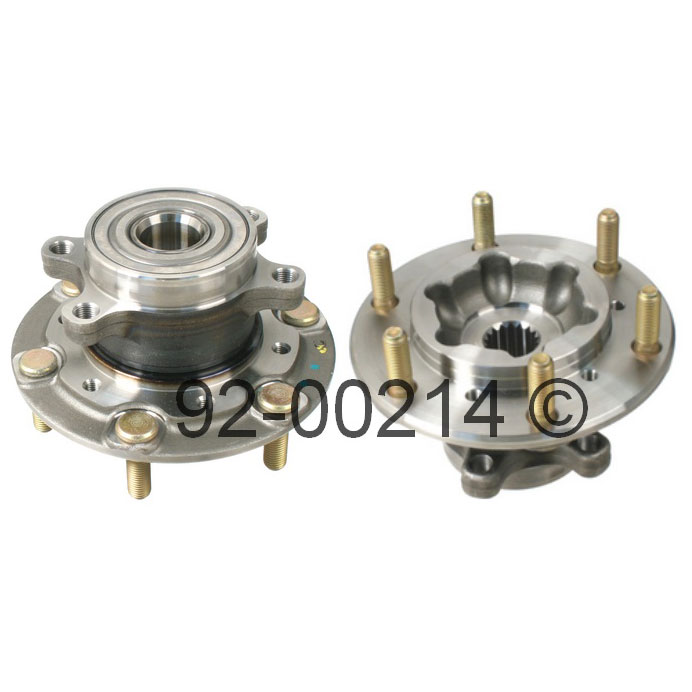 Isuzu Axiom                          Wheel Hub AssemblyWheel Hub Assembly