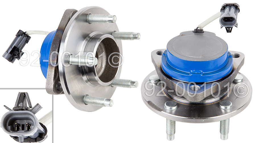 Buick Rendezvous                     Wheel Hub AssemblyWheel Hub Assembly