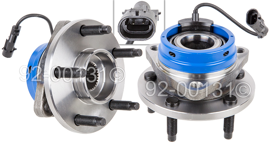 Chevrolet HHR                            Wheel Hub AssemblyWheel Hub Assembly
