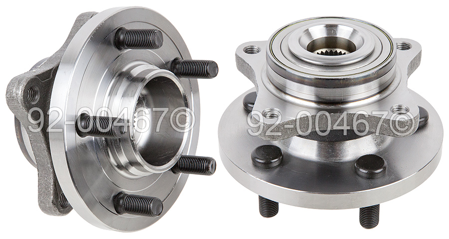 Land_Rover LR3                            Wheel Hub AssemblyWheel Hub Assembly
