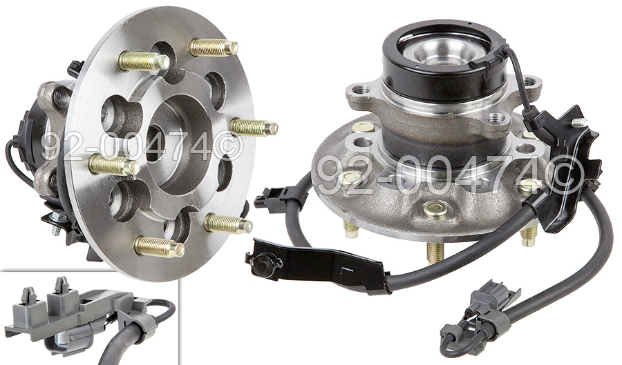 Isuzu I-Series Truck                 Wheel Hub AssemblyWheel Hub Assembly