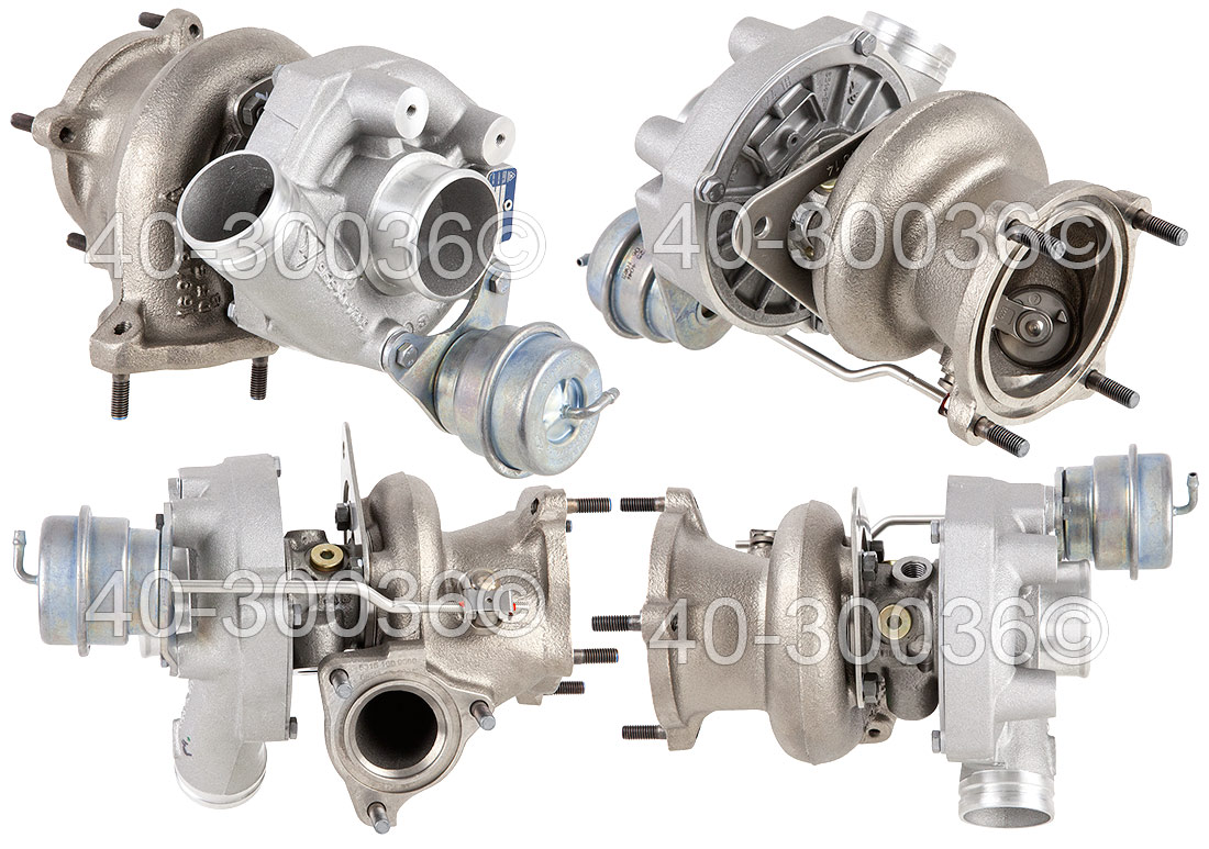 2001 Porsche 911 Right Side Turbo Turbocharger
