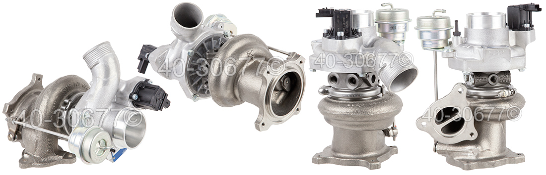 2010 Volvo XC60 Turbocharged Model Turbocharger