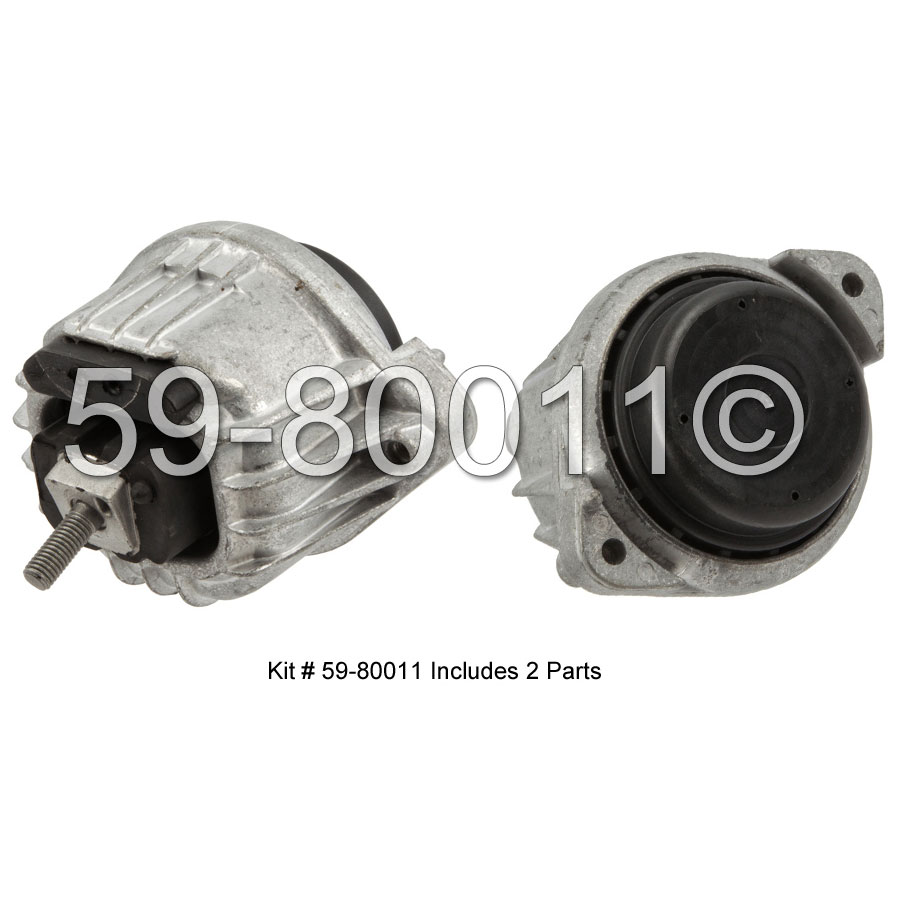 BMW 325xi                          Engine Mount KitEngine Mount Kit