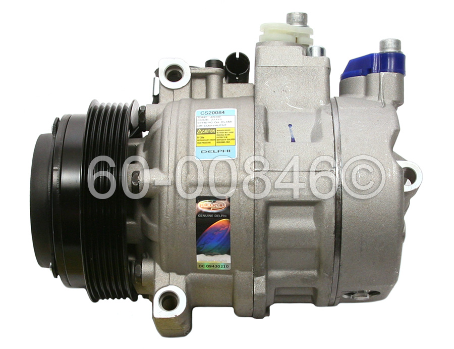 Mercedes_Benz S600                           A/C Compressor