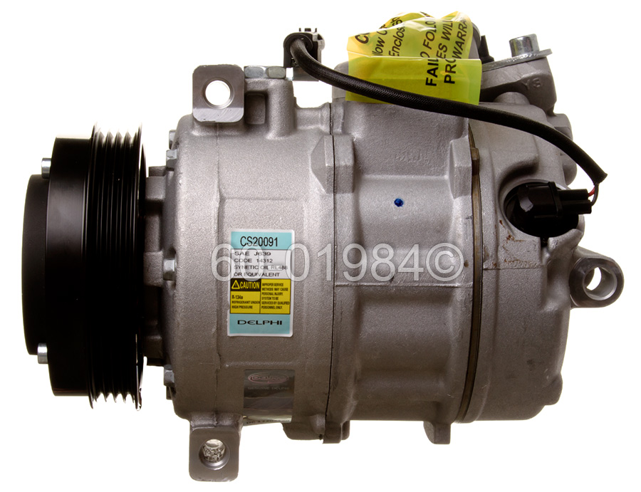 BMW 760                            A/C CompressorA/C Compressor