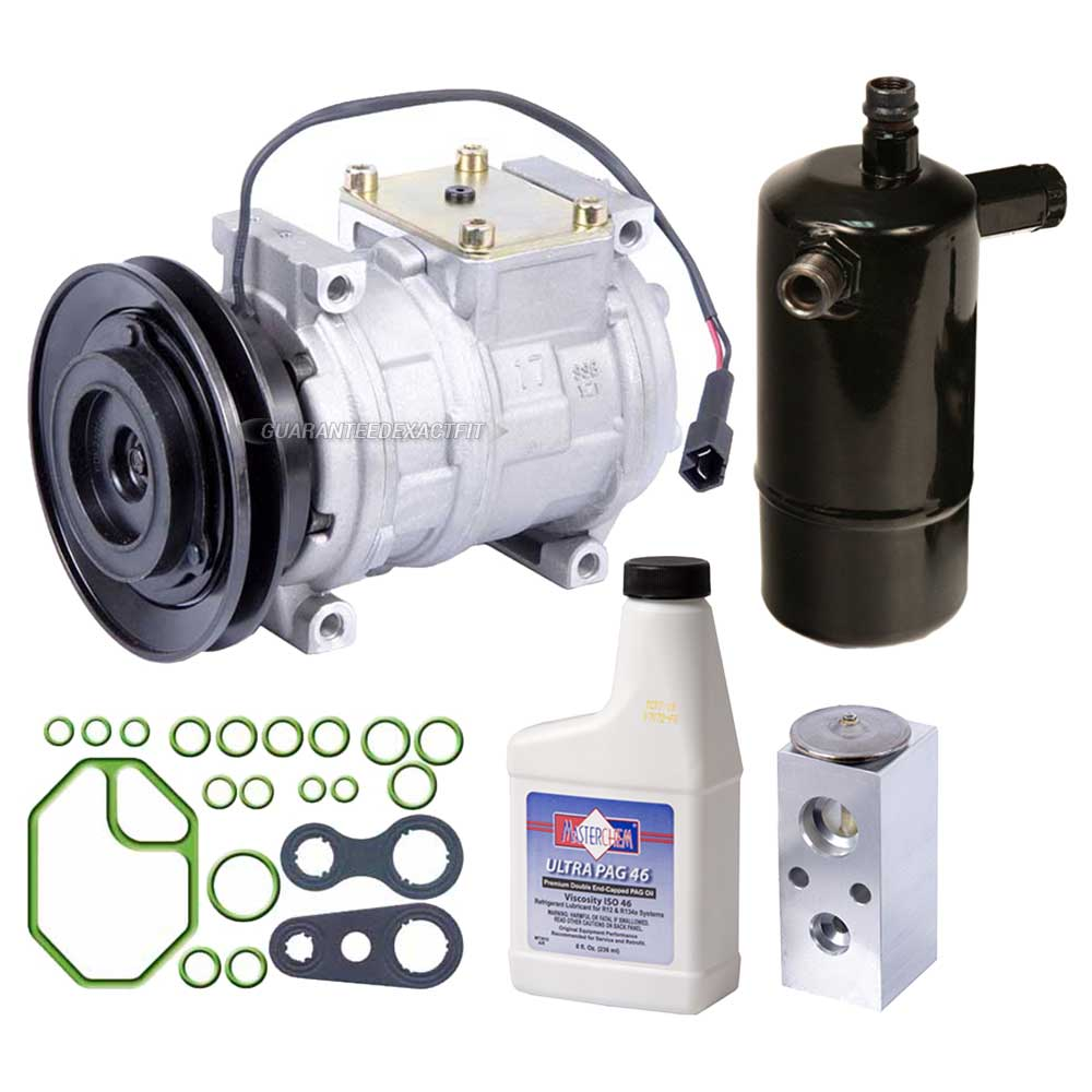 how to change home ac compressor oil