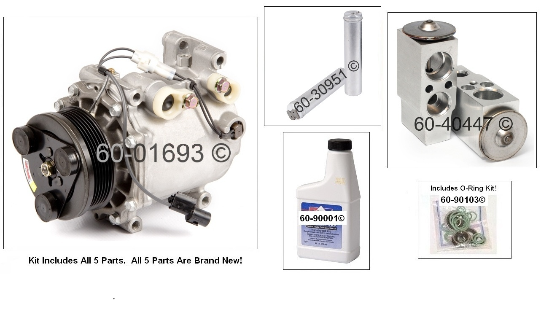 Mitsubishi Endeavor                       AC KitAC Kit