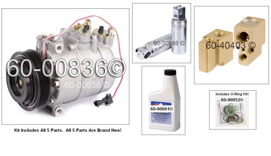 Saab 9-5 AC Kit